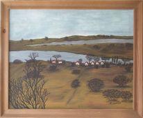 Hiddensee, Insel, Landschaft, Malerei