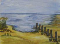 Strand, Meer, Malerei