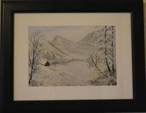 Berge, Natur, Winterlandschaft schnee, Landschaft