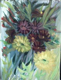Pflanzen, Pinsel, Blüte, Blumen