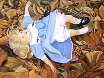 Puppe, Kindheit, Missbrauch, Malerei