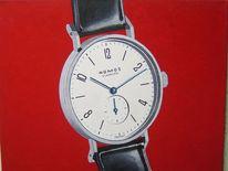 Zeit, Uhr, Zifferblatt, Malerei