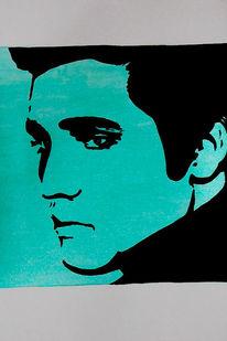 Elvis, Popart, Acrylmalerei, Malerei