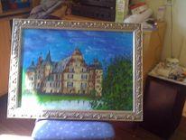 Ölmalerei, Malerei, Schloss