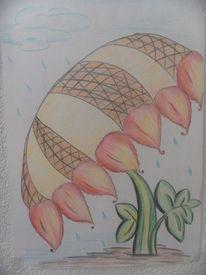 Zeichnungen, Regenschirm