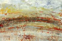 Abstrakt, Landschaft, Malerei,