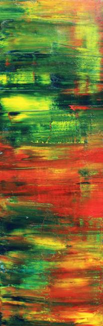 Abstrakt, Ölmalerei, Regenbogen, Malerei