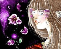 Elfen feen fantasy, Malerei, Manga