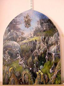 Ölmalerei, Historische techniken, Temperamalerei, Altmeisterliche technik