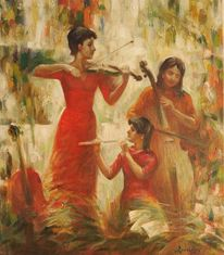 Malerei, Trio