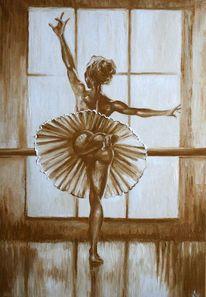 Ballerina, Licht, Akt, Tanz