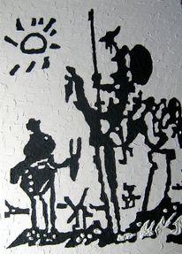 Don quichotte, Picasso