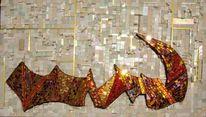 Mosaikkunst, Glas, Smalti, Mosaik