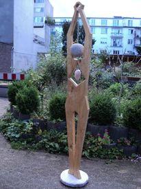 Rosenquarz, Mensch, Körper, Bildhauer