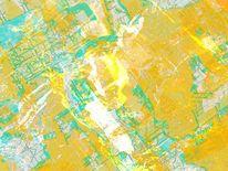 Einkreisung1, Linie, Rauschen, Gelb