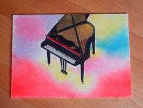Farben, Klavier, Flügel, Zauber