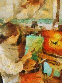 Expressiver realismus, Ölmalerei, Realismus, Expressionismus