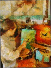 Ölmalerei, Expressiver realismus, Malerei,
