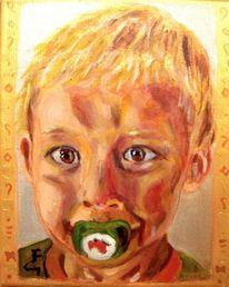 Acrylmalerei, Realismus, Expressiver realismus, Klimt