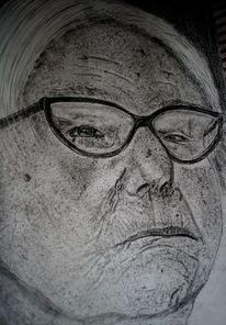 Portrait, Gesicht, Brille, Alt