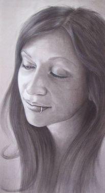 Malerei, Selbstportrait, Portrait