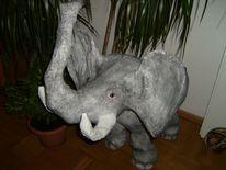 Elefant, Schaufensterdekoration, Tiere, Dekoration