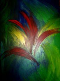 Feuerwerk, Malerei