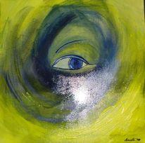 Augen, Tief, Verwirren, Sichtweise