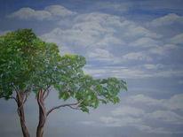 Hoffnung, Ferne, Weite, Malerei