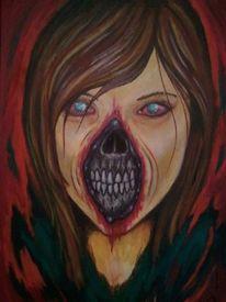 Portrait, Emotion, Endlichkeit, Horror