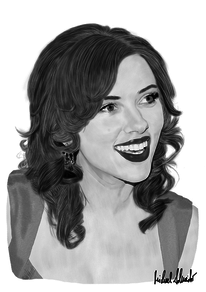 Hollywood, Schauspieler, Scarlett johansson, Digitale kunst