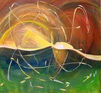 Feuerwerk, Genesis, Fantasie, Malerei