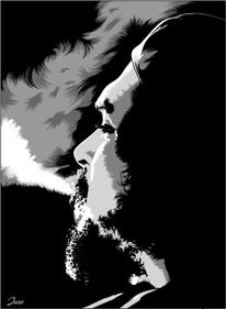 Che guevara, Illustration, Illustrationen, Guevara