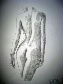 Frauen körper zeichnen