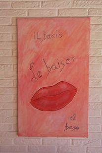 Kuss, Baiser, Lippen, Bacio