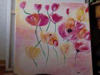 Pastellmalerei, Sand, Freihand, Acrylmalerei