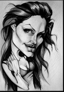 Karikatur, Portrait, Zeichnungen,