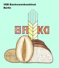 Bako, Berlin, Ddr, Zeichnungen
