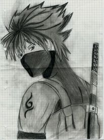 Schwarz weiß, Manga, Weiß, Schwarz