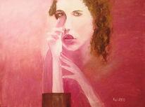 Ölmalerei, Haider, Sacharow, Portrait