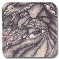 Illustration, Käfer, Mutter, Wurm