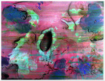 Klecksen, Acrylmalerei, Bunt, Käfer