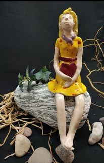 Mädel, Keramik, Mädchen, Menschen
