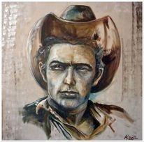 Portrait, James dean, Schauspieler, Hut