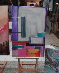Abstrakt, Note, Rechteckig, Quadrat