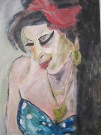 Herz, Amy winehouse, Kleid, Rot