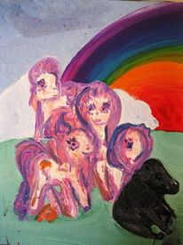 Pony, Plastik, Außenseiter, Schönheit