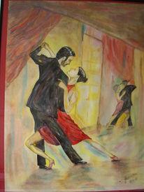 Leidenschaft, Temperamentvoll, Tango, Malerei