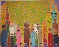 Beten, Afrika, Heilig, Malerei