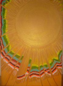 Sonne schmetterling regenbogen, Malerei, Sonne, Regenbogen